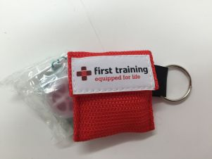 CPR Face Shield Key Ring